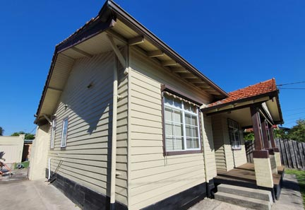 Maintenance Weatherboard Repairs And Painting